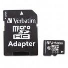 microSDHC Card w/Adapter, 8GB