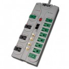 TLP1210SATG Eco Surge Green, 12 Outlet, Tel DSL Coax, 10ft Cord