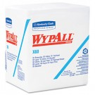WYPALL X60 Wipers, 1/4-Fold, 12 1/2 x 13, White