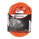 Indoor/Outdoor Extension Cord, 100 Feet, Orange