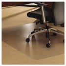 ClearTex Ultimat Polycarbonate Chair Mat for Carpet, 48 x 79, Clear