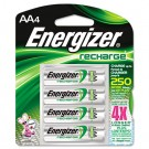 e? NiMH Rechargeable Batteries, AA, 4 Batteries/Pack