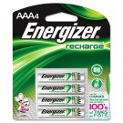 e? NiMH Rechargeable Batteries, AAA, 4 Batteries/Pack