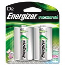 e? NiMH Rechargeable Batteries, D