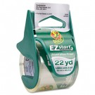 "EZ Start Carton Sealing Tape/Dispenser, 1.88"" x 22.2 yards, 1-1/2"" Core"