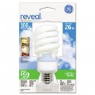 Energy Smart Compact Fluorescent Spiral Light Bulb, Spiral, 26 Watts
