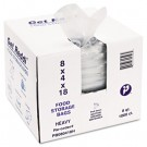 Get Reddi Food & Poly Bag, 8 x 4 x 18, 8-Quart, 1.00 Mil, Clear, 1000/Case