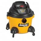 Right Stuff Wet/Dry Vacuum, 8 A, 19 lbs, Yellow/Black