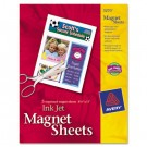 Personal Creations Inkjet Magnet Sheets, 8-1/2 x 11, White, 5/Pack