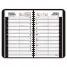 "Recycled Daily Appointment Book, Black, 4 7/8"" x 8"", 2013"