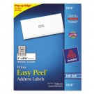 Easy Peel Inkjet Address Labels, 1 x 2-5/8, White