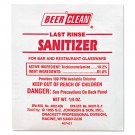 Beer Clean Last Rinse Glass Sanitizer, Powder, 1/4 oz. Packet
