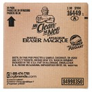 "Magic Eraser Extra Power, 4 3/5 x 2 2/5 in, 7/10"" Thick, White"