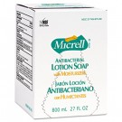 Antibacterial Lotion Soap, Amber, 800 ml Refill