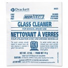 Beer Clean Glass Cleaner, Unscented, Powder, 1/2 oz. Packet