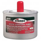 Chafing Fuel Can with Stem Wick, 7 oz, Six-Hour Burn