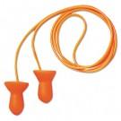 Quiet Multiple-Use Earplugs, Corded, 26NRR, Orange/Blue