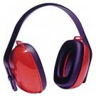 QM24+ Three-Position Earmuffs, 24NRR, Red/Black