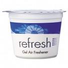 Re-Fresh Gel Air Freshener, Lemon, 4.6oz, Cassette