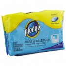 Dust & Allergen Dry Refill Cloths, White, 8 x 11 1/2, 32/Pack