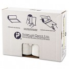 High-Density Can Liner, 43 x 48, 60-Gallon, 17 Micron, Clear, 25/Roll