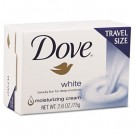 White Travel Size Bar Soap with Moisturizing Lotion, 2.6 oz