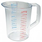 Bouncer Measuring Cup, 2qt, Clear