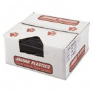 Repro Low-Density Can Liners, 43w x 47h, Black