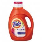 Laundry Detergent with Bleach, Original Scent, Liquid, 3.1 qt. Bottle