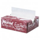 Eco-Pac Natural Interfolded Dry Waxed Paper Sheets, 6 x 10 3/4, White, 500/Pack