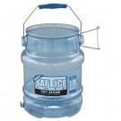 Saf-T-Ice Tote, 5gal Capacity, Transparent Blue