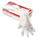 Latex Gloves, Powder-Free, Purple, Large, 100/Dispenser Pack