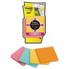 Full Adhesive Notes, 3 x 3, Assorted Colors