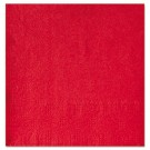 "Beverage Napkins, Two-Ply 9 1/2"" x 9 1/2"", Red, Embossed"