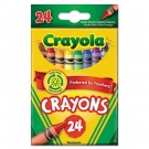 Classic Color Pack Crayons, 24 Colors/Box