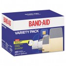 Sheer/Wet Adhesive Bandages, Assorted Sizes