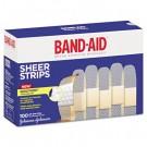 Bandages, 3/4 x 3, Flexible Fabric, Adhesive