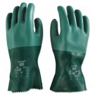 Scorpio Neoprene Gloves, Green, Size 10