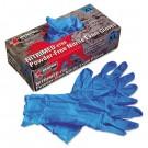 Nitri-Med Disposable Nitrile Gloves, Blue, Extra Large