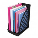 Recycled Plastic Large Magazine File, 6 1/4 x 9 1/2 x 11 3/4, Black