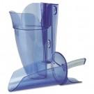 Saf-T-Scoop & Guardian System Blue Plastic Scoop for Ice Machine, 64-86 Oz, 1/Ea