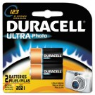 Ultra High Power Lithium Battery, 123, 3V, 2/Pack