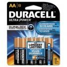 Ultra Advanced Alkaline Batteries, AA, 8/Pack