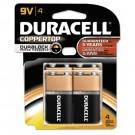Coppertop Alkaline Batteries, 9V