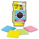 Full Adhesive Notes, 3 x 3, Assorted Bright Colors