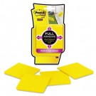 Full Adhesive Notes, 3 x 3, Electric Yellow