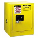 Sure-Grip EX Countertop Safety Cabinet, 17w x 17d x 22h, Yellow