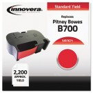 7671 Compatible, Remanufactured, 767-1 Postage Meter, 2200 Page-Yield, Red