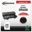 DR400 Compatible, Remanufactured, DR400 Laser Toner, 20000 Page-Yield, Black