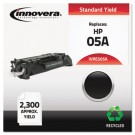E505A Compatible, Remanufactured, CE505A (05A) Laser Toner, 2300 Yield, Black